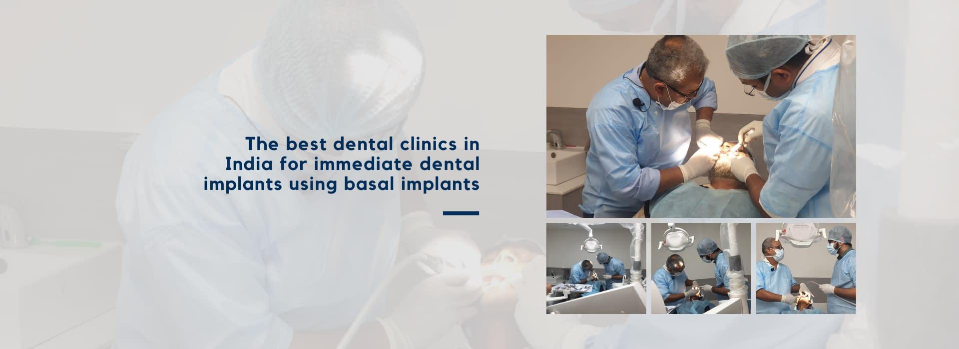 Dr Vivek Gaur - dental implants using basal implants