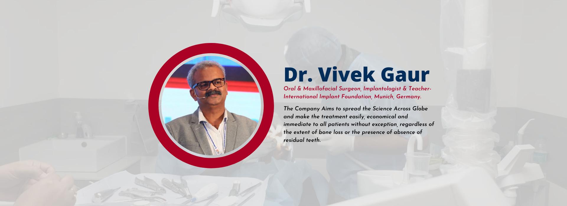 Dr. Vivek Gaur @ Simpladent Clinics - Single piece implants with Retrievability | Basal Implants | #1 Dental Clinic